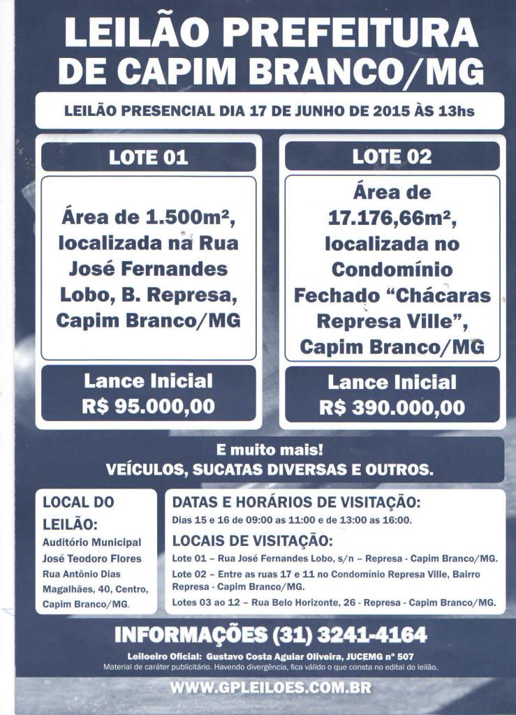 LEILÃO ABSURDO